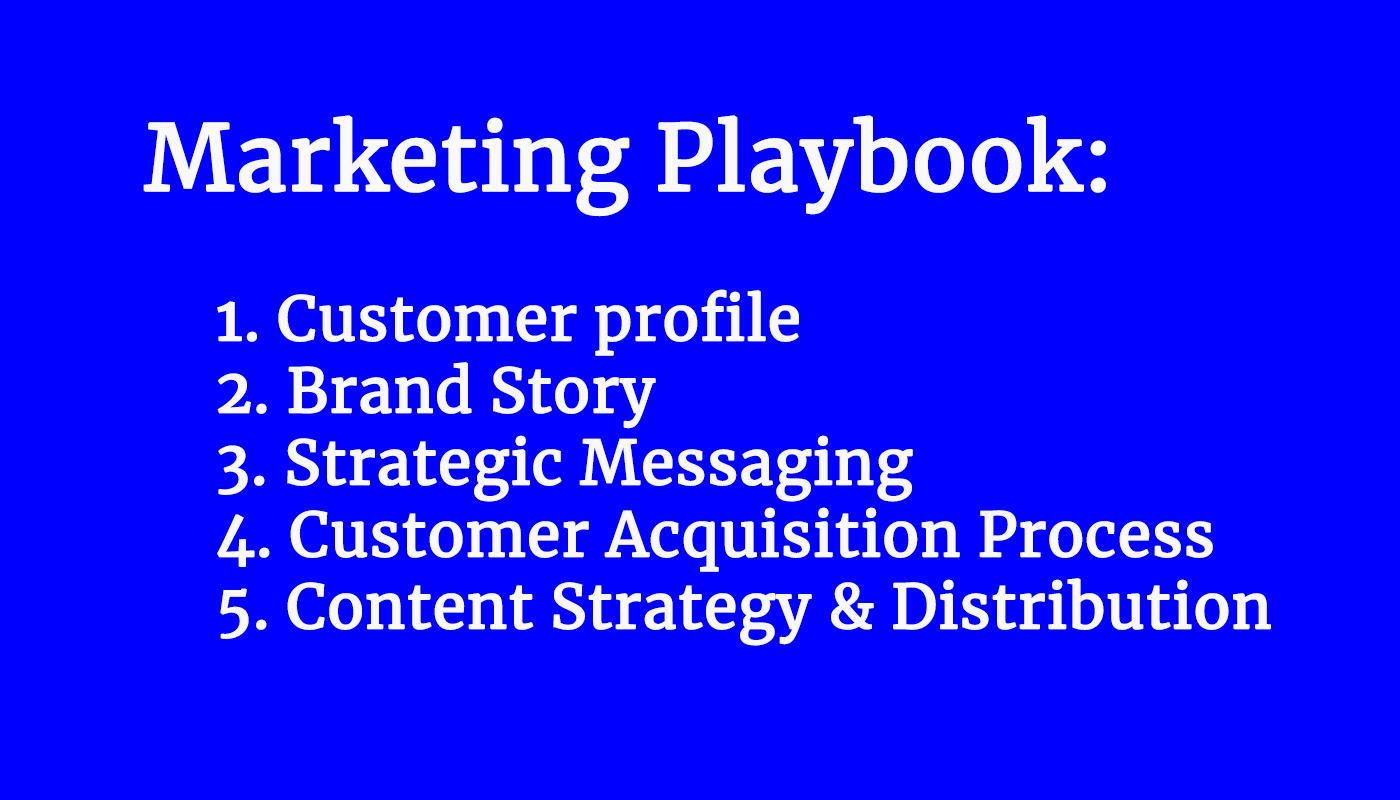 Marketing Strategy Playbook (20 min video)